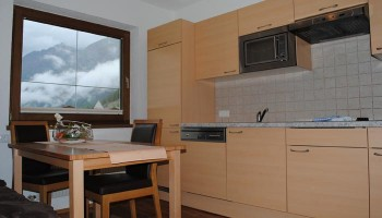 Apartment Soelden Kueche