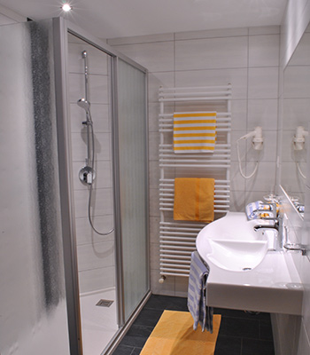 Appartement Soelden Badezimmer