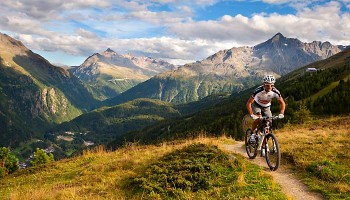 Mountainbike Sölden Sommer