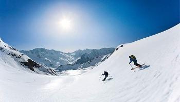 Sölden Gletscher Skifahren